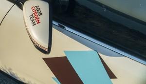 AG2R CITROËN TAKIM grafik kimlik C5 Aircross SUV dikiz aynası